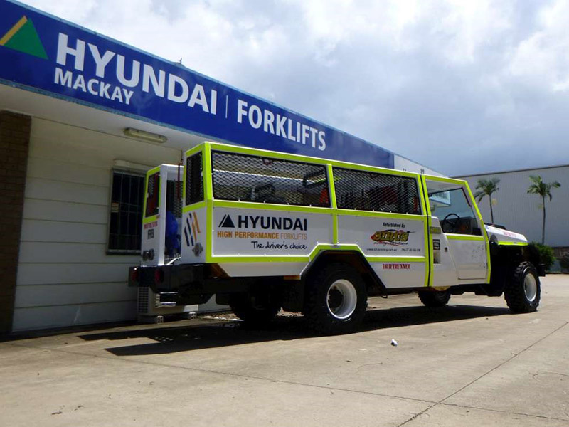 Service of diesel and electric powered equipment   Hyundai Forklifts Sales, Service and Hire   Distributors of Valvoline and Hi-Tech Oils